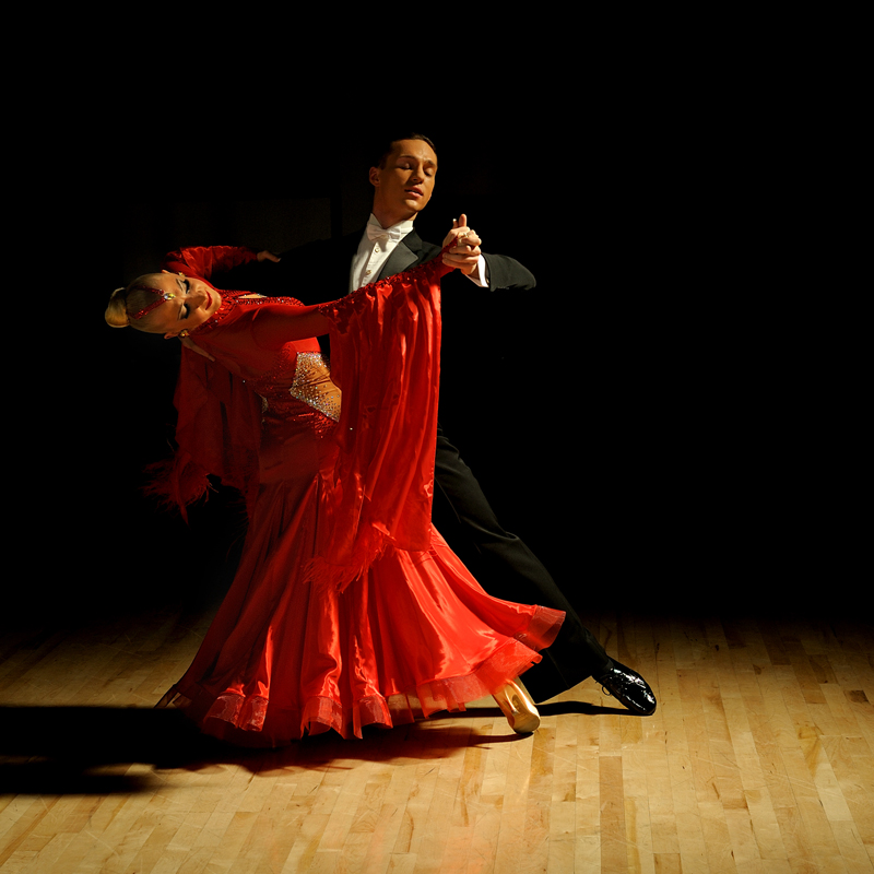 Igor Colac and Roxane Milotti black and white Ballroom Dance Photography Portraiture